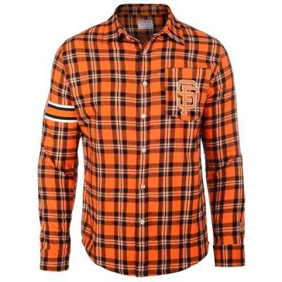MLB サンフランシスコ・ジャイアンツ Wordmak Basic Flannel Shirt