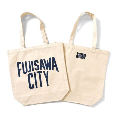 FUJISAWA CITY フジサワシティ LOVEプロジェクト・LAWSON・ふじキュン キャンバス エコバッグ NATURAL ナチュラル