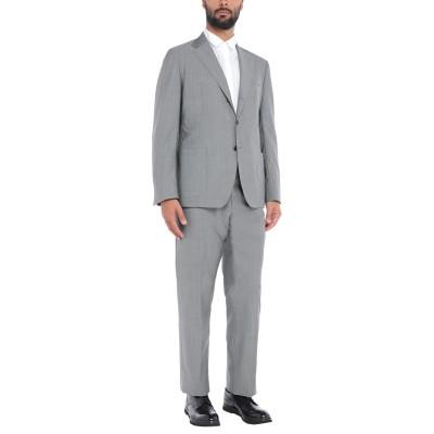 サルトリオ SARTORIO スーツ グレー 56 ウール 84% / モヘヤ 16% スーツ