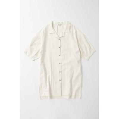 TUCK SLEEVE ロングシャツ