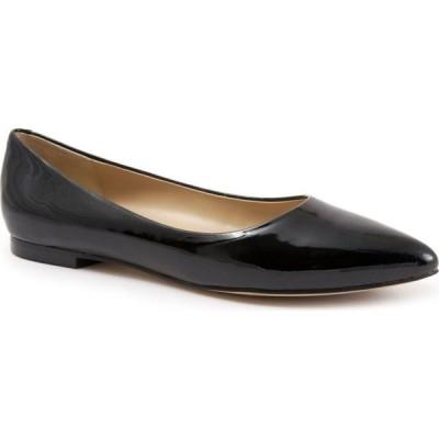 トロッターズ Trotters レディース スリッポン・フラット シューズ・靴 Estee Flat Black