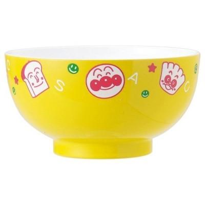 アンパンマン塗汁椀S(イエロー) お茶碗 電子レンジOK 食器洗い乾燥機OK
