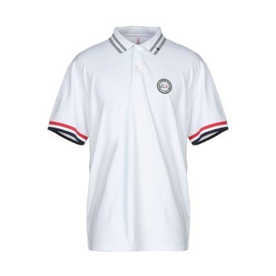 サンシックスティエイト SUN 68 ポロシャツ ホワイト XXL コットン 95% / ポリウレタン 5% ポロシャツ
