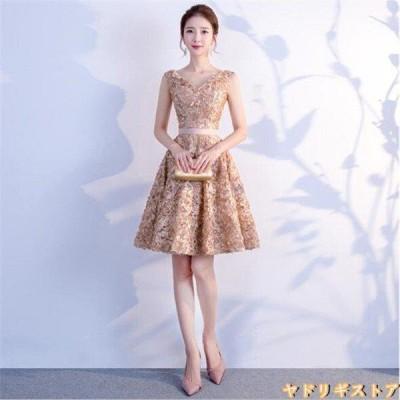 パーティードレス ドレス ワンピース 20代 30代 40代 50代 結婚式 同窓会 お呼ばれ ノースリーブ フォーマル レディース  女性 大きいサイズ dr-038