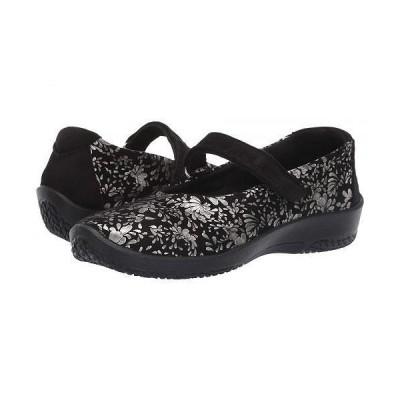 Arcopedico アルコペディコ レディース 女性用 シューズ 靴 フラット L45 - Black Barbara