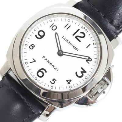 パネライ PANERAI  ルミノール ベース PAM00114 腕時計 ホワイト メンズ 中古