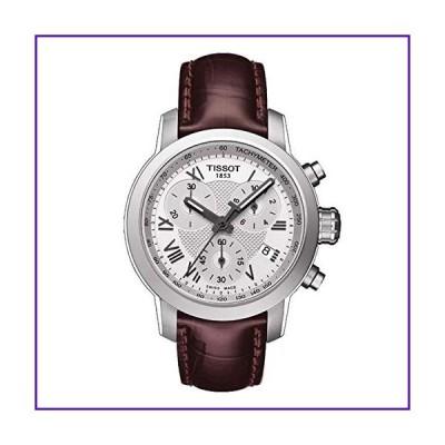 Tissot Women's T-Sport T055.217.16.033.01 Brown Leather Swiss Quartz Watch 並行輸入品