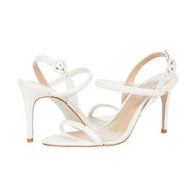 Massimo Matteo マッシオマッテオ レディース 女性用 シューズ 靴 ヒール Evening Leather Sandal - White