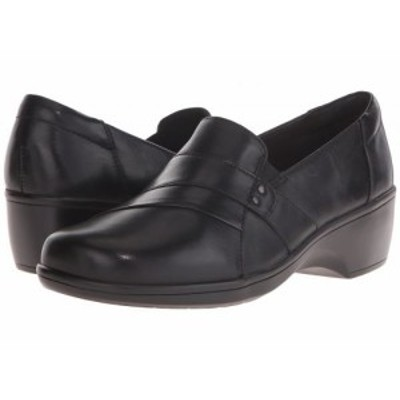 Clarks クラークス レディース 女性用 シューズ 靴 ローファー ボートシューズ May Marigold Black【送料無料】