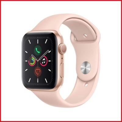 Apple Watch Series 5 (GPSモデル) 44mm ゴールドアルミニウムケースとピンクサンドスポーツバンド S/M & M/L