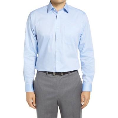ノードストローム NORDSTROM MEN'S SHOP メンズ シャツ 3点セット ワイシャツ トップス 3-Pack Traditional Fit Non-Iron Dress Shirts Blue Azurite