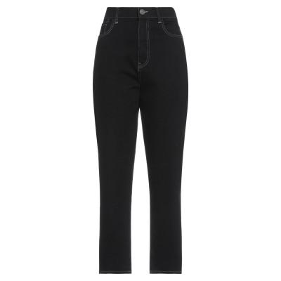 ツインセット シモーナ バルビエリ TWINSET パンツ ブラック 29 コットン 98% / ポリウレタン 2% パンツ