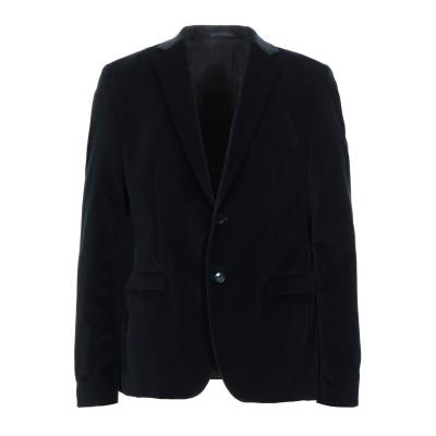 マニュエル リッツ MANUEL RITZ テーラードジャケット ダークブルー 52 コットン 100% テーラードジャケット