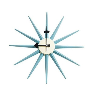 海外限定 SHISEDECO George Nelson Wall Clock, Decorative Modern Silent Wall Clock for Home, Kitchen,Living Room,Office etc. - Colorful Wo