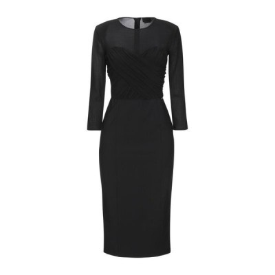 ELISABETTA FRANCHI チューブドレス ファッション  レディースファッション  ドレス、ブライダル  パーティドレス ブラック