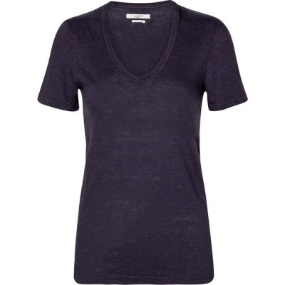 イザベル マラン Isabel Marant, Etoile レディース Tシャツ トップス Kranger linen jersey T-shirt Faded Night
