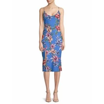 ブラックハロー レディース ワンピース Aloma Floral Print Midi Dress