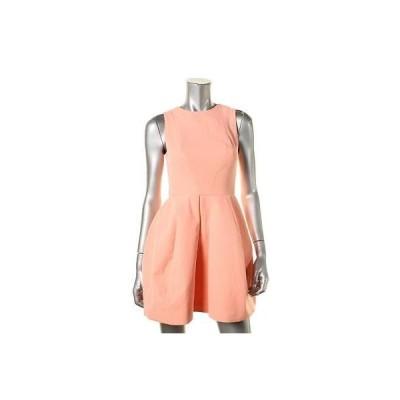 - ドレス ワンピース AQ/AQ 4234 レディース ピンク Pleated ノースリーブ ミニ Party ドレス 4 BHFO