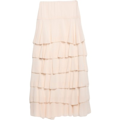 VICOLO ロングスカート ライトピンク M ポリエステル 100% ロングスカート