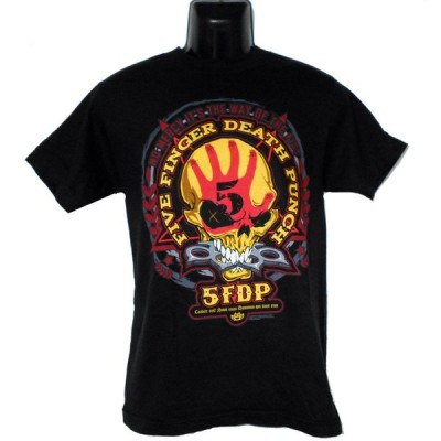 FIVE FINGER DEATH PUNCHTシャツ DAY OF THE FISTL 正規品