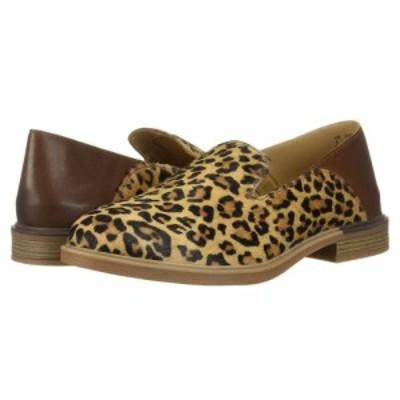ハッシュパピー Hush Puppies レディース ローファー・オックスフォード シューズ・靴 Bailey Slip-On Leopard Haircalf