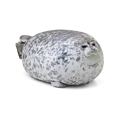 AOLIGE Chubby Blob Seal Pillow Soft Fat Hugging Pillow Stuffed Cotton Anima