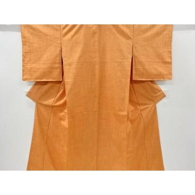 宗sou 未使用品 手織り真綿紬着物【リサイクル】【着】