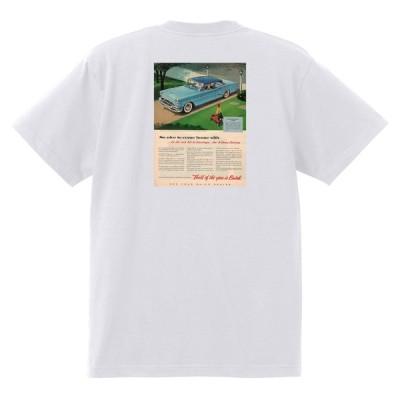 アドバタイジング ビュイック 292 白 Tシャツ 黒地へ変更可能  1955 スーパー リビエラ センチュリー ロードマスター オールディーズ