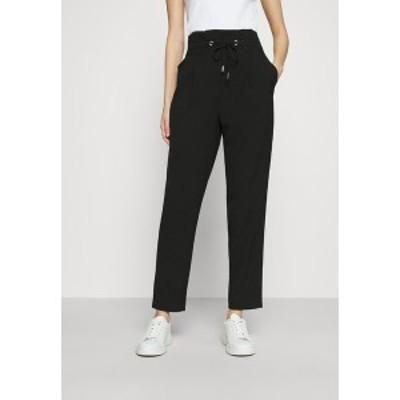 オンリー レディース カジュアルパンツ ボトムス ONLHERO LIFE STRING PANT - Trousers - black black