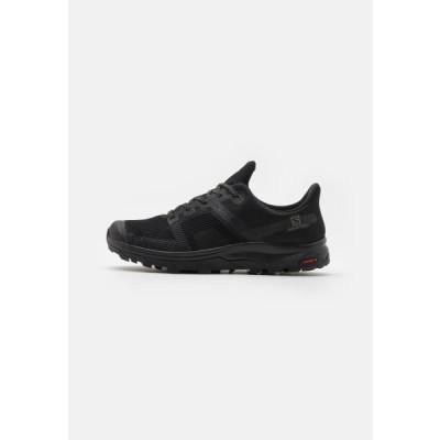 ウニサ メンズ スポーツ用品 OUTLINE PRISM GTX - Hiking shoes - black/castor gray