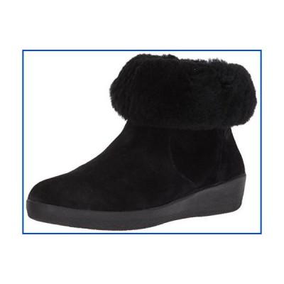 【新品】FitFlop レディース ブーツ スケートブーツ US サイズ: 6.5 カラー: ブラック【並行輸入品】