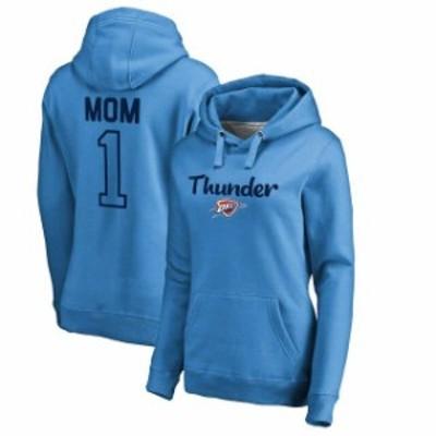 Fanatics Branded ファナティクス ブランド スポーツ用品  Fanatics Branded Oklahoma City Thunder Womens Blue Number 1 Mom Pullover