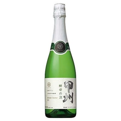 【日本ワインスパークリング売上NO.1】 マンズ 酵母の泡 甲州 [ スパークリング 中辛口 日本 720ml ]