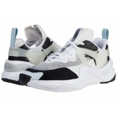 PUMA プーマ レディース 女性用 シューズ 靴 スニーカー 運動靴 Rise Puma Black/Puma White【送料無料】