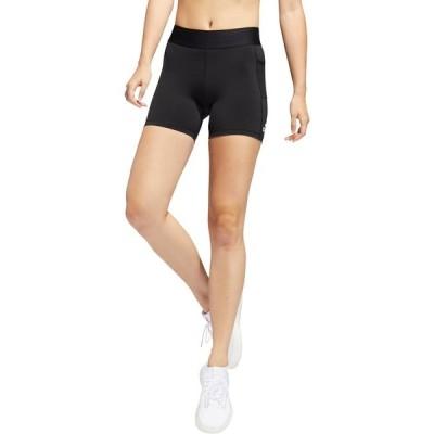 アディダス カジュアルパンツ ボトムス レディース adidas Women's Alphaskin Sport Shorts Black/White