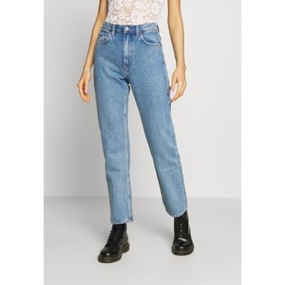 ウィークデイ デニムパンツ レディース ボトムス VOYAGE ECHO - Straight leg jeans - pen blue