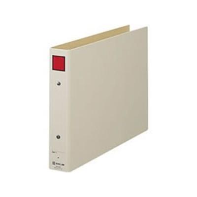キングジム/保存ファイル A4ヨコ とじ厚30mm グレー/4383