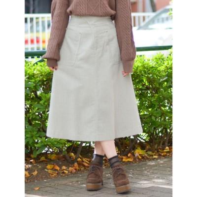 dazzlin コールAラインスカート(スカイブルー)