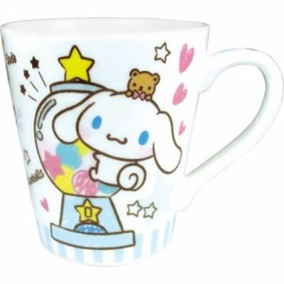 ◆シナモロール 陶器製 スリムマグカップ/おやつ(サンリオ)(551)