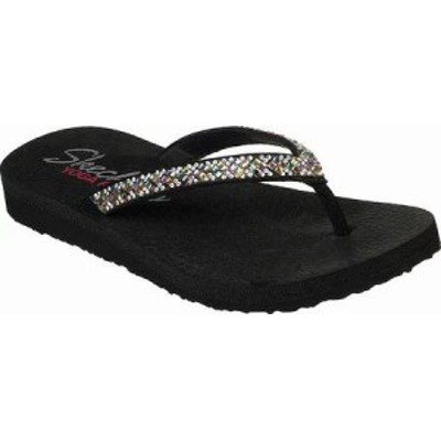 Skechers レディースサンダル Skechers Meditation Perfect 10 Thong Sandal?