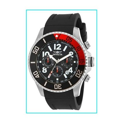 Invicta Men's 15145 Pro Diver Stainless Steel Watch With Black Polyurethane Band【並行輸入品】