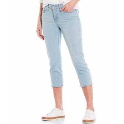 リーバイス レディース デニムパンツ ボトムス 311 Shaping Skinny Leg Cropped Pocket Capri Jeans Slate Await