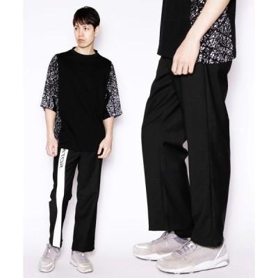 パンツ DETAILS/ PRINT LINE PANTS