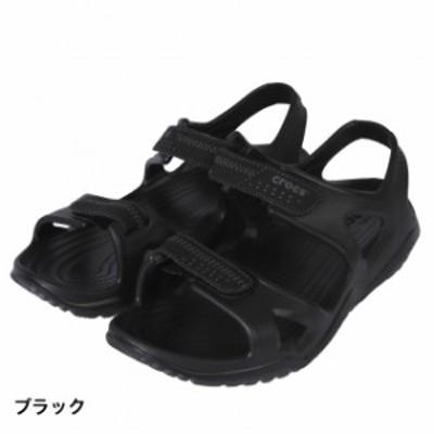 クロックス 正規品 【2019年モデル】 スウィフトウォーター リバー サンダル ブラック スポーツサンダル メンズ