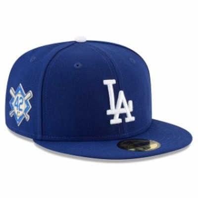 New Era ニュー エラ スポーツ用品  New Era Los Angeles Dodgers Blue Jackie Robinson Day 59FIFTY Fitted Hat