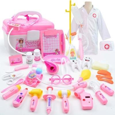 クリスマス プレゼントお医者さんごっこ おもちゃ ミニドクター ホスピタル ままごと ごっこ遊び35個セット 女の子 男の子 知育 おもちゃ 誕生日