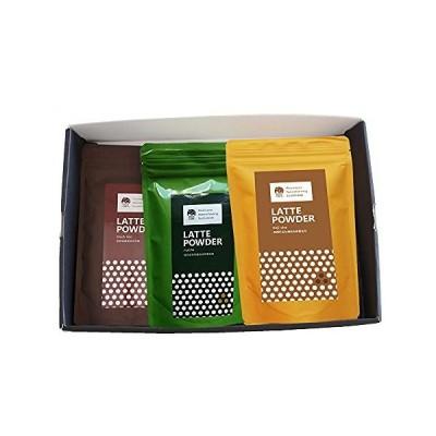 いいこカフェ ラテパウダー 3種セット 200g 抹茶ラテ ほうじ茶ラテ 和紅茶ラテ