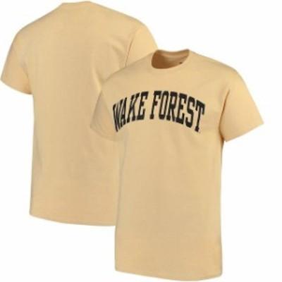 Fanatics Branded ファナティクス ブランド スポーツ用品  Wake Forest Demon Deacons Gold Basic Arch T-Shirt