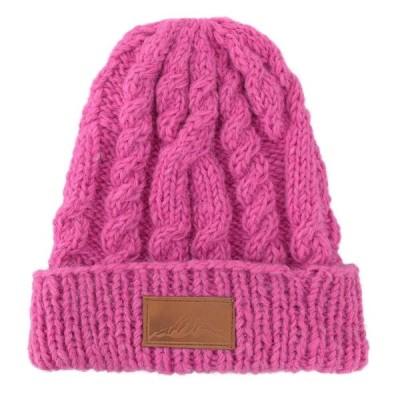 ニット帽 ヒマラヤレザー マゼンタ 10618621039  キャンセル返品不可 他の商品と同梱は総計12個まで