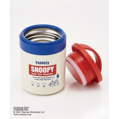 スヌーピー 超軽量コンパクト保温保冷デリカポット 300ml LJFC3 お弁当箱・水筒(ニッセン、nissen)